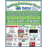 October 1-8 Dining Out Event