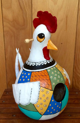 April 21st – Birdhouse & Garden Art Auction